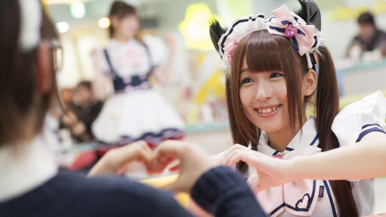 〈About 1 hours Activity〉Maid cafe experience in Akihabara (Debut Set)