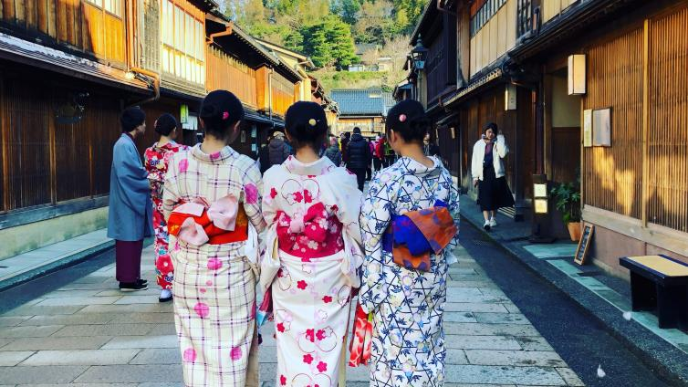 〈Up to about 6 hours Activity〉Let's Wear Kimono and Enjoy Sightseeing in Kanazawa station