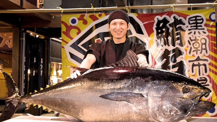 〈1Day Tour〉Tuna Cutting Performance & Tuna Sashimi, Sushi All-You-Can-Eat & All-You-Can-Pick & Eat Strawberry