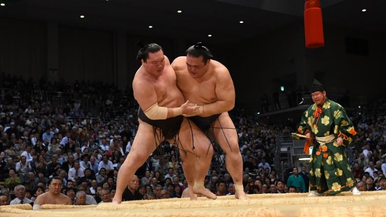〈Afternoon Tour〉Sumo Tokyo Tournament (From Ryogoku)
