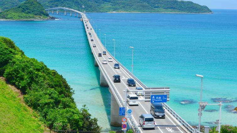 〈1Day Tour〉Tsunoshima Ohashi Bridge & Motonosumi Inari Shrine Course