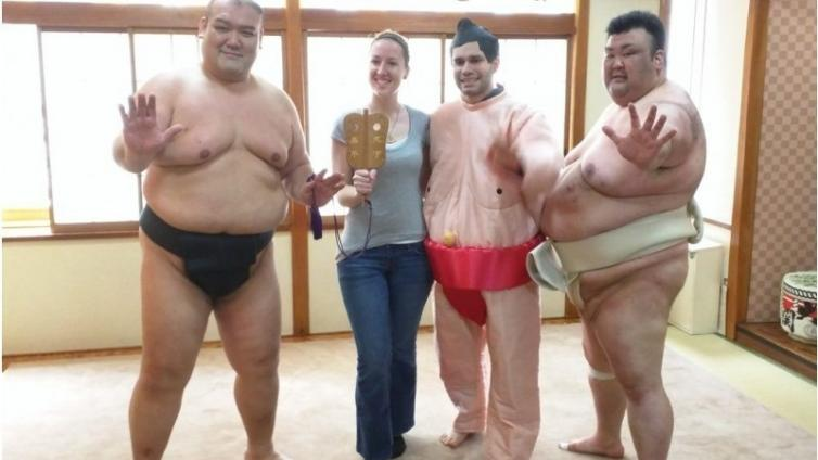 〈About 2.5 hours Activity〉Sumo Wrestling Demonstration & Chanko Nabe Lunch