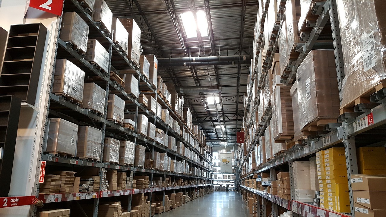 Warehouses typically use RFID
