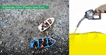【環保突破】科學家成功把塑膠變成可用燃料,更稱燃燒後造成的污染相對較低
