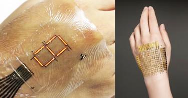 【穿戴裝置】日本東大研發電子皮膚,可測量身體狀況與傳送數據給醫生