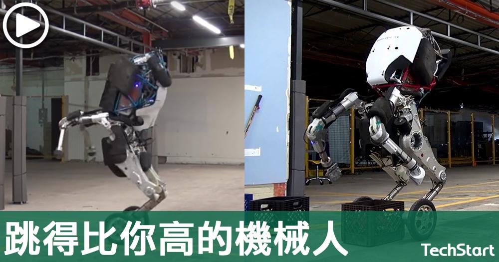 【機械特工】彈簧腿機械人Handle,也許跳得比你高