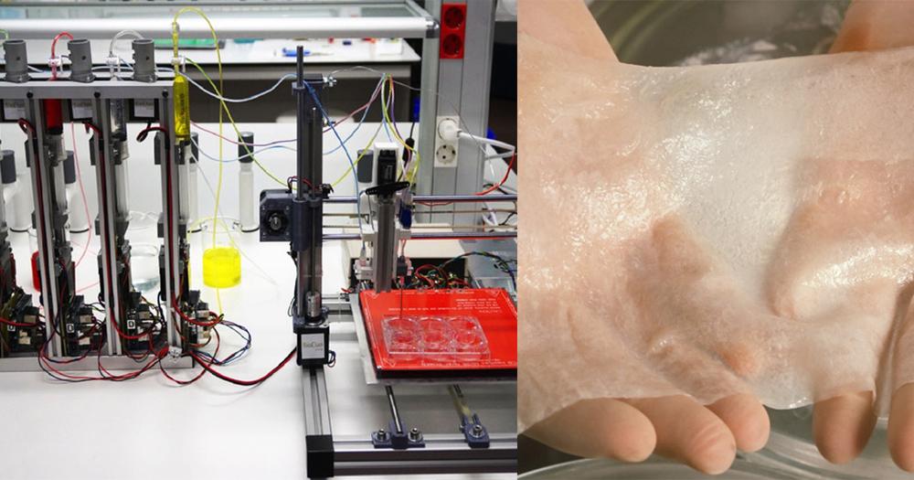 【生物打印機】3D打印皮膚技術大突破,望助燒傷者重獲新生