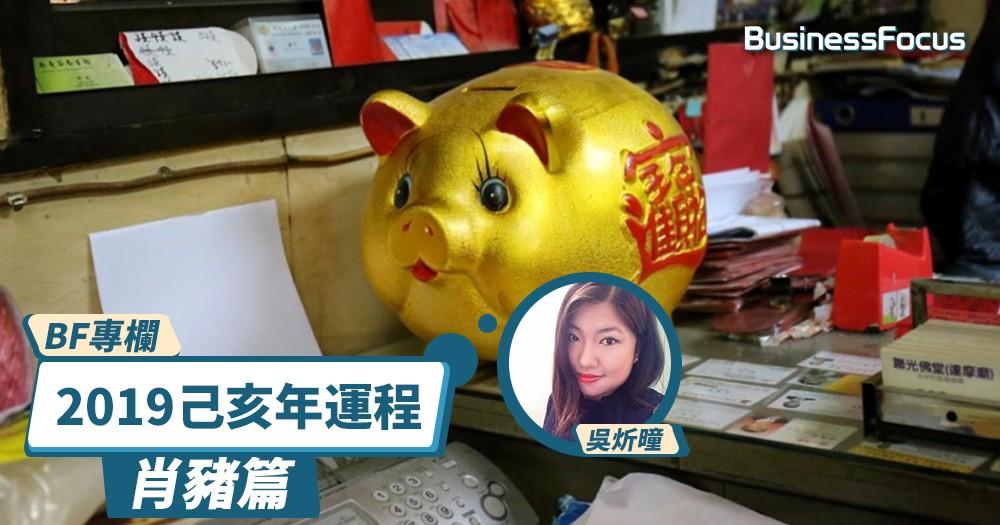 【BF專欄】炘曈暢談己亥年運程:肖豬篇