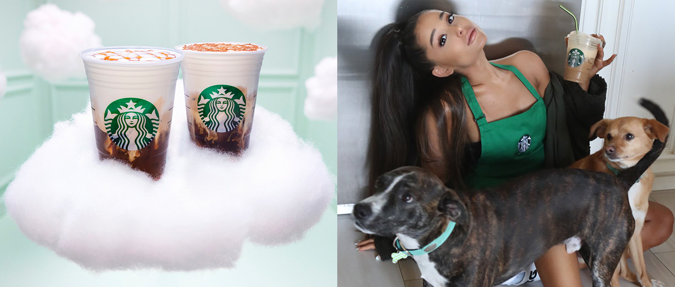 Ariana Grande Now Has Her Own Starbucks Drink Named Cloud