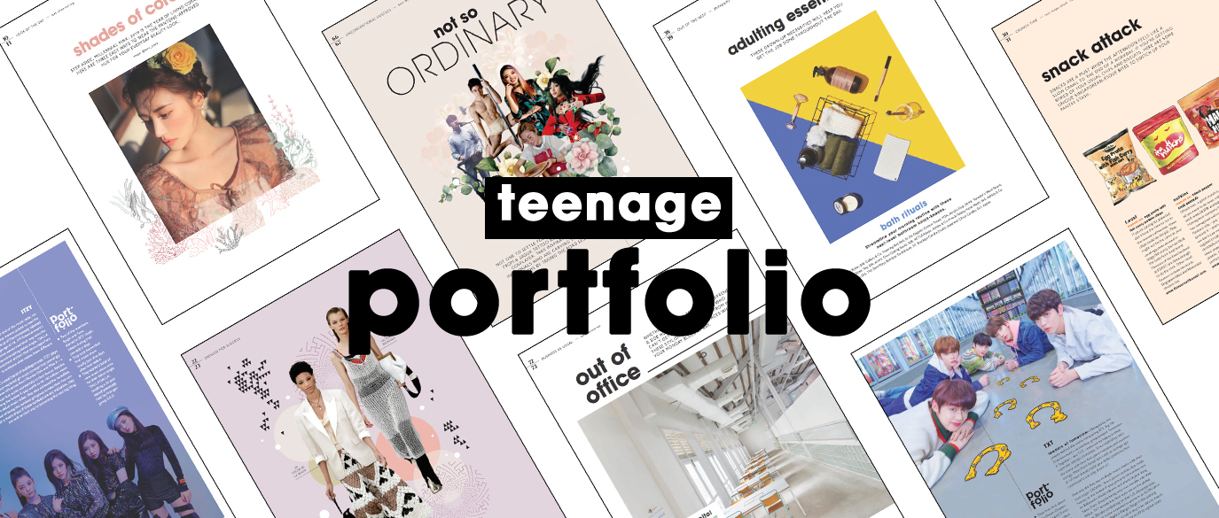 Teenage Portfolio 2019