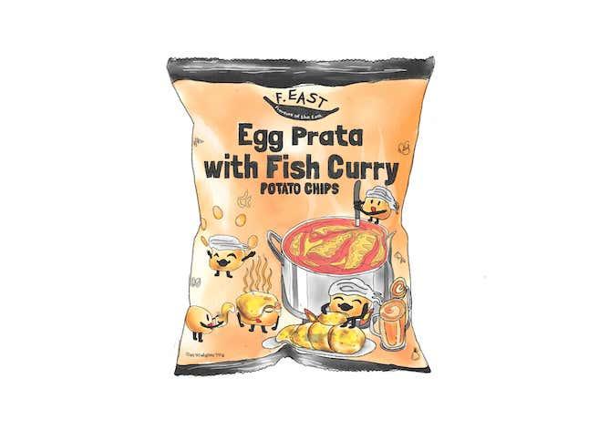 Teenage_Snacks_F.EAST_Egg Prata with Fish Curry