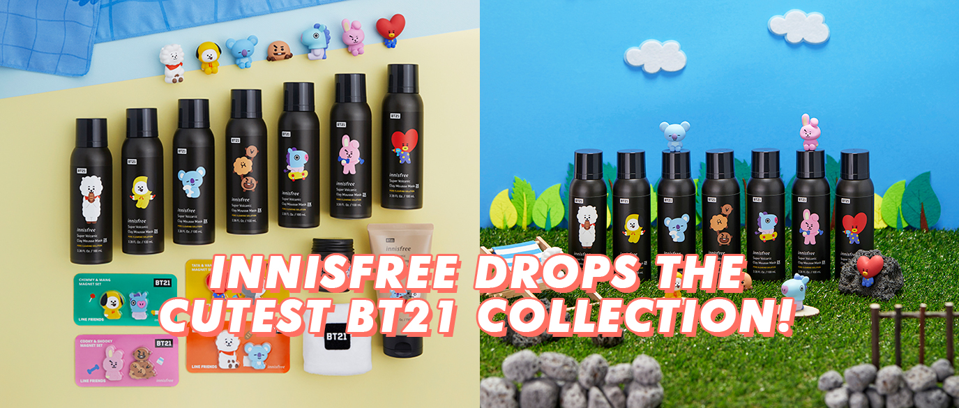 innisfree BT21 Limited Edition Collection Singapore