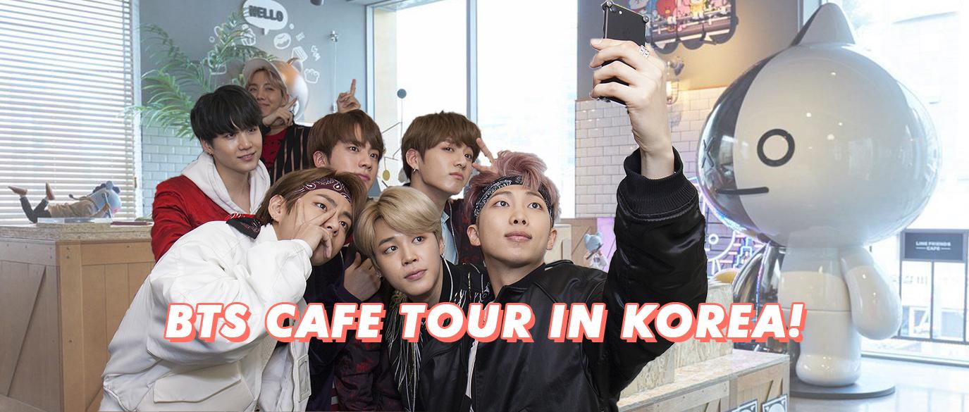 BTS Cafe Tour Seoul Korea