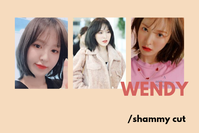 red velvet wendy shammy cut
