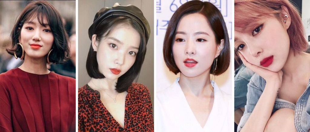 7 Trendy Short Hairstyles Inspired By Your Favourite Korean Female Celebs Teenage Magazine