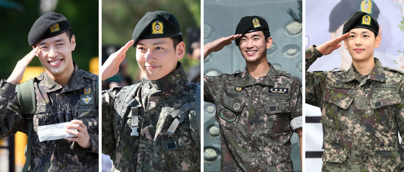 Oppas Military K-Drama Comebacks 2019 2020
