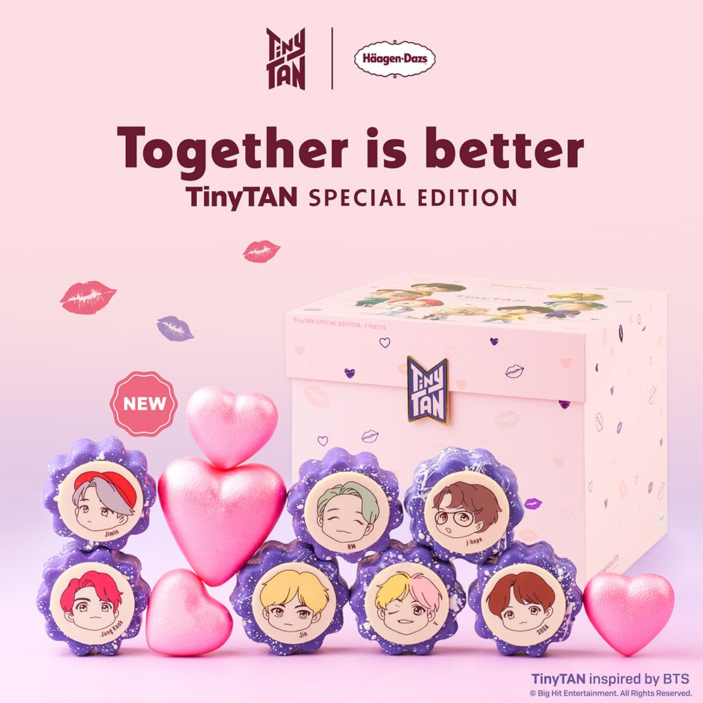 Haagen-Dazs TinyTAN Special Edition Ice Cream Bites-min