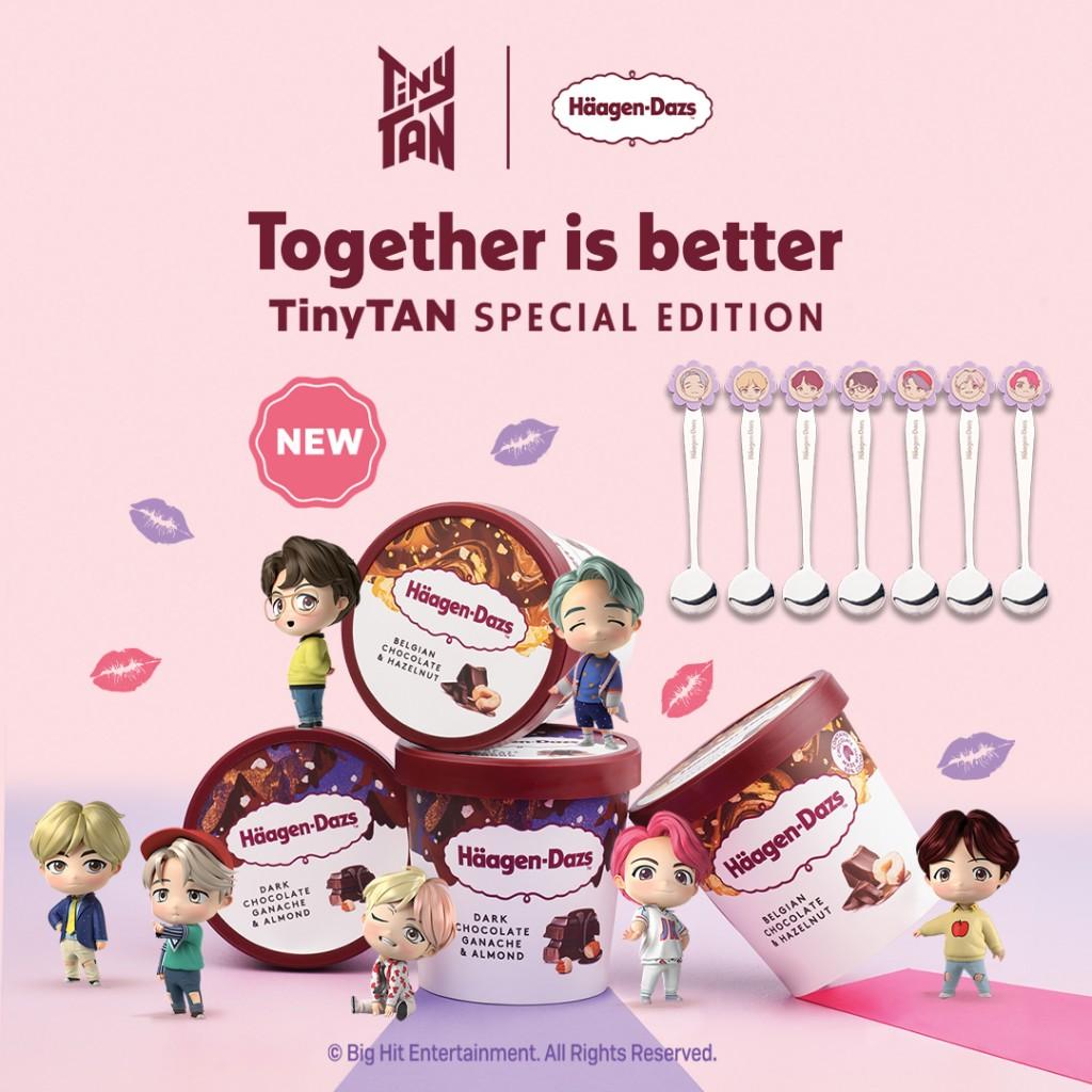 Haagen-Dazs TinyTAN Special Edition