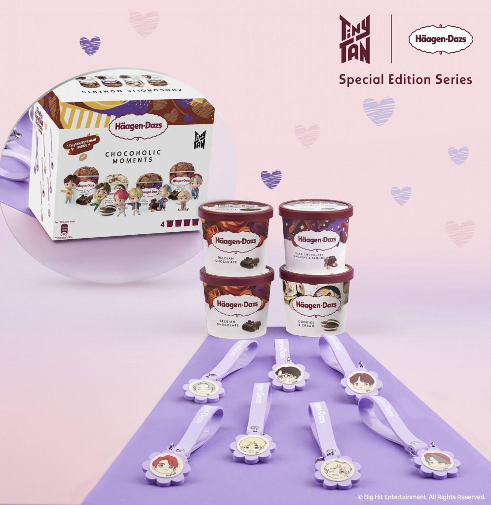Häagen-DazsTM TinyTAN Minicup Multipacks