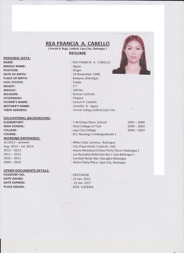 Rea_francia_resume_1