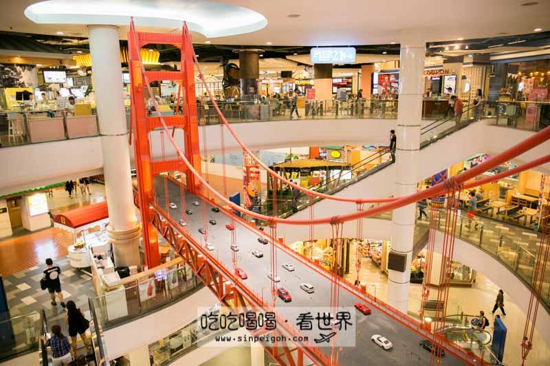 terminal 21吊橋