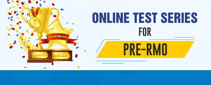 Online Test Series for Pre Regional Mathematics Olympiad