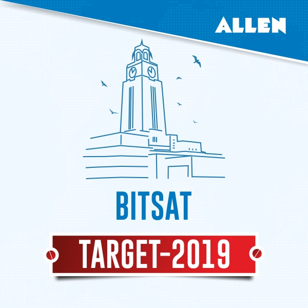 allen bitsat test series