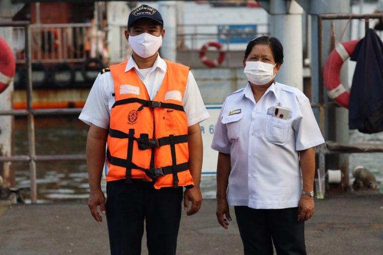 บรรยากาศการสัญจรของไทย ช่วง COVID-19