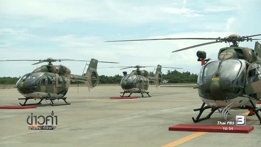Navy takes delivery of five helicopters - Page 4 - Thailand