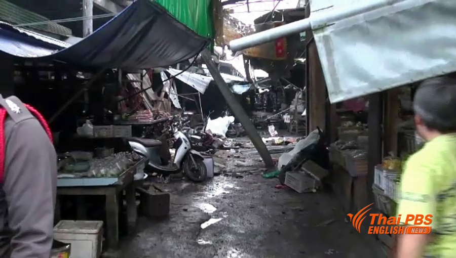 3 killed in Thailand market bombing