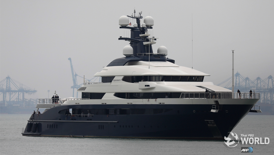 Super yacht at centre of graft probe arrives in Malaysia from ...
