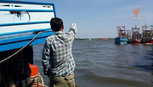 ชาวประมงพบเรือทิ้งน้ำมัน คาดต้นตอเหตุคราบน้ำมันเกยหาดหัวหิน-ชะอำ ยาวกว่า 10 กม.