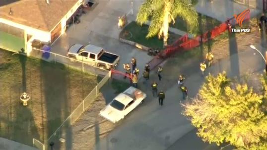 เอฟบีไอเร่งหาตัวมือปืนกราดยิงในสหรัฐฯดับ14 มือปืน 2 คน-ค้นอพาร์ตเมนต์พบระเบิด
