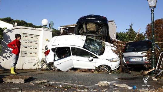 ฝนตกหนัก-น้ำท่วมฉับพลันในฝรั่งเศส เสียชีวิตอย่างน้อย 16 คน สูญหาย 3