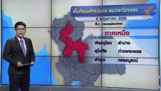 กรมอุตุฯ เผยทุกภาคของไทยยังมีฝนตกตลอดสัปดาห์นี้