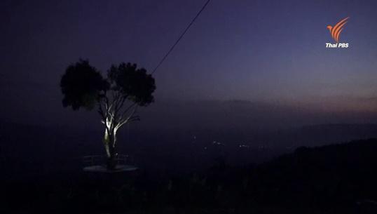 นั่งชิงช้าต้นไม้ชมดาวบนดิน จ.พิษณุโลก