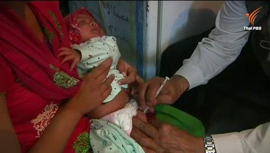 WHOหวั่นโรคระบาด เร่งฉีดวัคซีนป้องกันหัด-หัดเยอรมันให้เด็กเนปาล 5 แสนคน
