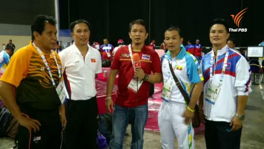 ผู้ฝึกสอนนักมวยชาวไทยคุมทีมต่างชาติลุยซีเกมส์