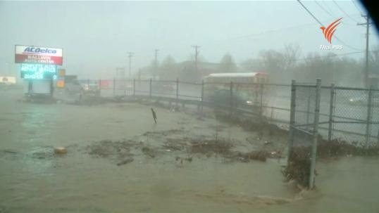 สหรัฐฯ เผชิญสภาพอากาศเลวร้ายจากพายุ