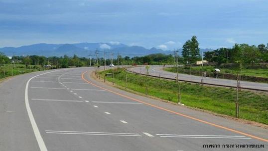 กรมทางหลวงชนบทสร้างถนนรองรับเขตเศรษฐกิจพิเศษแม่สอด