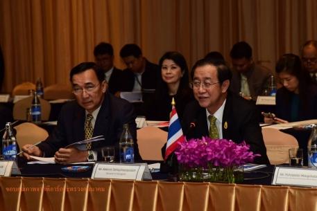 รมว.คมนาคม-หัวหน้าคณะฝ่ายจีนหารือก่อสร้างรถไฟไทย-จีน ระยะที่ 1