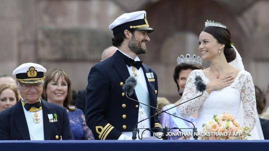 เจ้าชายสวีเดนเสกสมรสอดีตนางแบบสาวสามัญชน