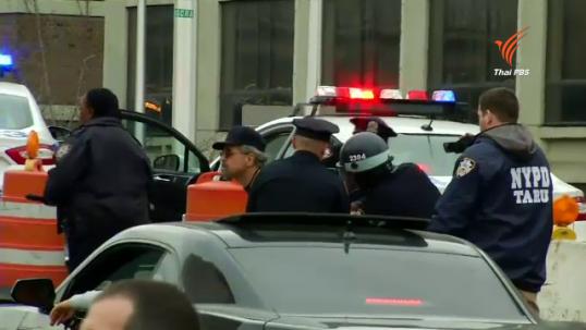 ตร.นิวยอร์กจับผู้ประท้วงตำรวจยิงชายผิวสีเสียชีวิตอย่างต่อเนื่อง