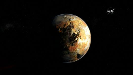 """ทั่วโลกยลโฉม""""ดาวพลูโต""""ในระยะใกล้ที่สุด จากการเดินยาวนานของยานนิวฮอไรซอนส์"""