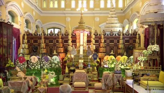 สมเด็จพระบรมโอรสาธิราชฯ เสด็จบำเพ็ญพระราชกุศลออกพระเมรุ สมเด็จพระสังฆราช