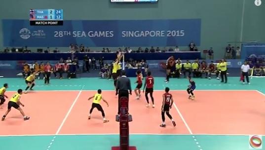 วอลเลย์บอลชายไทย ชนะ เวียดนาม 3-0 เชต คว้าเหรียญทองซีเกมส์ 2015