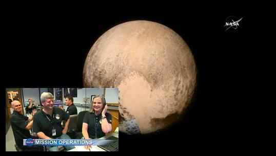 ยานนิวฮอไรซันส่งสัญญาณจากดาวพลูโตกลับโลก