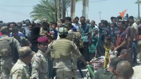 ชาวอิรักในเมืองรามาดีอพยพหนีกลุ่มไอเอส
