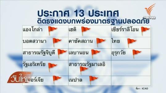 """""""ประจิน""""สั่งสอบผลเจรจา ICAO คาดสื่อสารกันผิดจนติดธงแดง"""