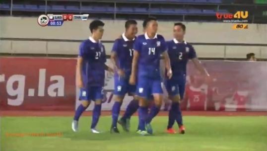 ทีมชาติไทย เฉือนชนะ ลาว 2-1 ในฟุตบอล ยู-19 ชิงแชมป์อาเซียน